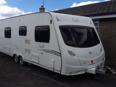 New  CRUSADER TYPHOON 4 Berth 2011 Used Touring Caravans For Sale