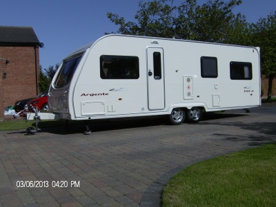 Avondale Argente 650/6 2007 touring caravan Main Photo