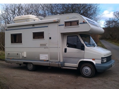 Used Peugot Pilote Abarto 1992 motorhome Main Photo